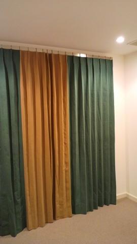 バイカラーカーテン・ウレス01