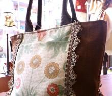モリスの布バッグ