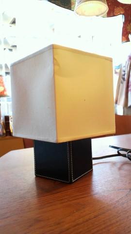 30四角いランプシェード張替え前2