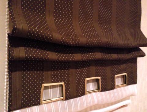 5真鍮パイプ裾デザインプレーンシェード