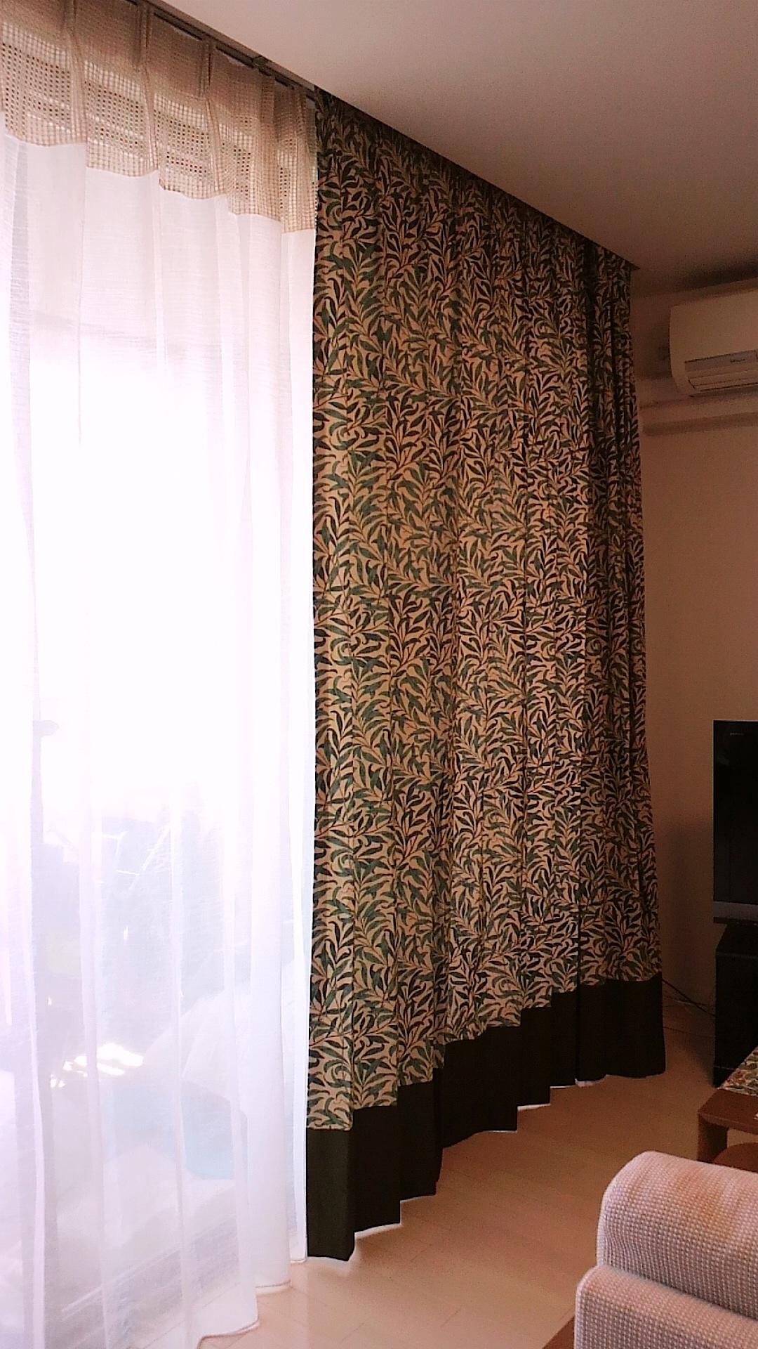 モリスのカーテンリフォーム | オーダーカーテンと壁紙のブライト