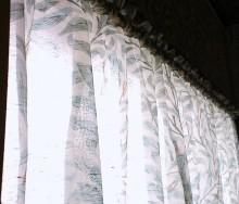 モリスのカフェカーテン