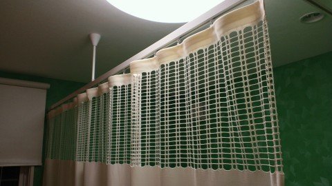 11病院用間仕切りカーテン1