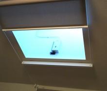 トップライト用 ロールスクリーンの施工例