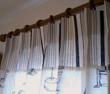切り替えカーテン