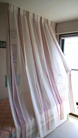 2仕切りカーテン3