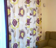クラーク&クラークのカーテン