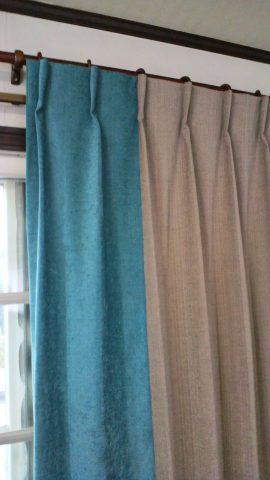 13カーテン掛け替え3
