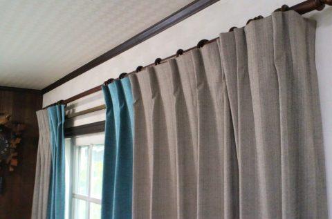 13カーテン掛け替え2