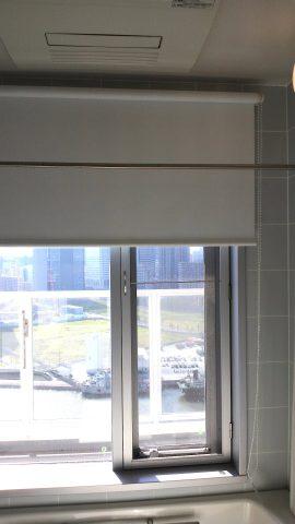 20浴室ロールスクリーン