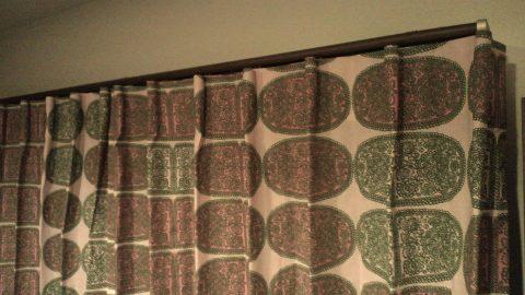 12マリメッコのカーテン1