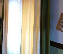 バイカラーカーテン