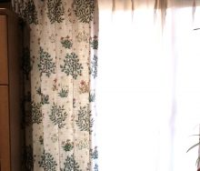 モリス「Orchard・オーチャード/220304」とサイレントグリス「1200」