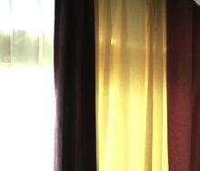 「配色」切り替えカーテン フジエテキスタイル「WF2500 コローレ」