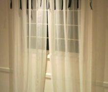 抜き抜け窓のカーテンスタイル 「フジエテキスタイル」