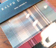 ラルフ ローレン タータンチェック オーダーカーテン・輸入壁紙のブライト