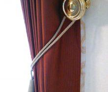 カーテンホルダーとタッセル オーダーカーテン・輸入壁紙のブライト