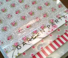 STUDIOg 「GARDEN PARTY・ガーデン パーティ」 オーダーカーテン・輸入壁紙のブライト