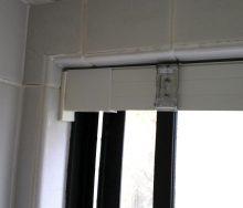 浴室 ロールスクリーン「テンションバー」 オーダーカーテン・輸入壁紙のブライト