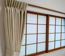 和室のカーテン 輸入オーダーカーテン・輸入壁紙のブライト