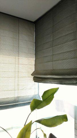 ダブルシェード コーナー窓2