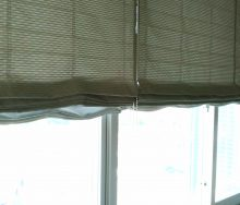 ダブルシェード コーナー窓 カーテン・インテリアリフォームのブライト