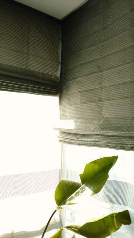 ダブルシェード コーナー窓1