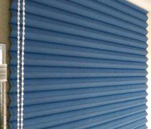 洋室窓 プリーツスクリーン  オーダーカーテン・輸入壁紙のブライト