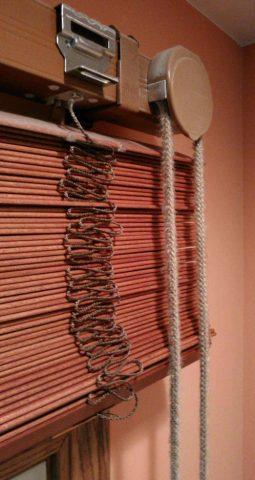 トーソー 木製ブラインド 操作コード交換1
