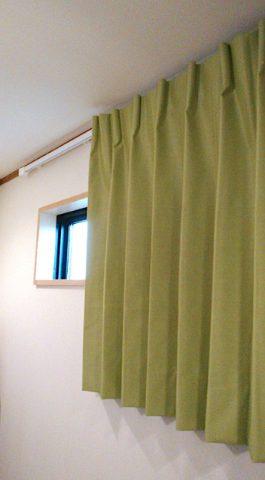 横長スリット窓 ドレープ2