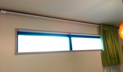 横長スリット窓 ドレープ3