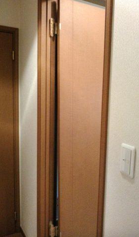 ドア交換前