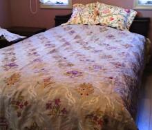 ウィリアムモリスのベッドスプレッド