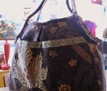 ウィリアムモリスのバッグ