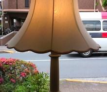 ランプシェードの張替え