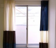 フジエテキスタイル 切り替えカーテン