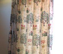 モリスとサンダーソンのカーテン