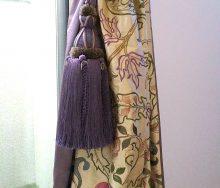 モリス シルク(刺繍)のカーテン マリーイザベル