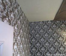 壁紙張替 洗面トイレ「Eijffinger・アイフィンガー」テシード