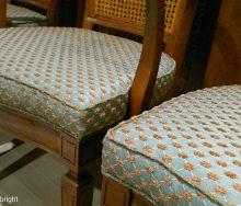 椅子の張替 修理 籐の背 「サンゲツ UP」