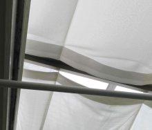 サンルーム(テラス囲い) リクシル 日除け交換 オーダーカーテン・インテリアリフォームのブライト