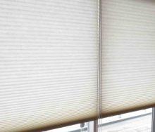 ハンターダグラス デュエットシェード ファブリック剥離 交換修理 オーダーカーテン・輸入壁紙のブライト