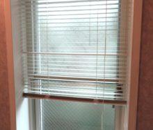 タチカワブラインド シルキーアクア RDS 浴室窓 by interior styling of bright